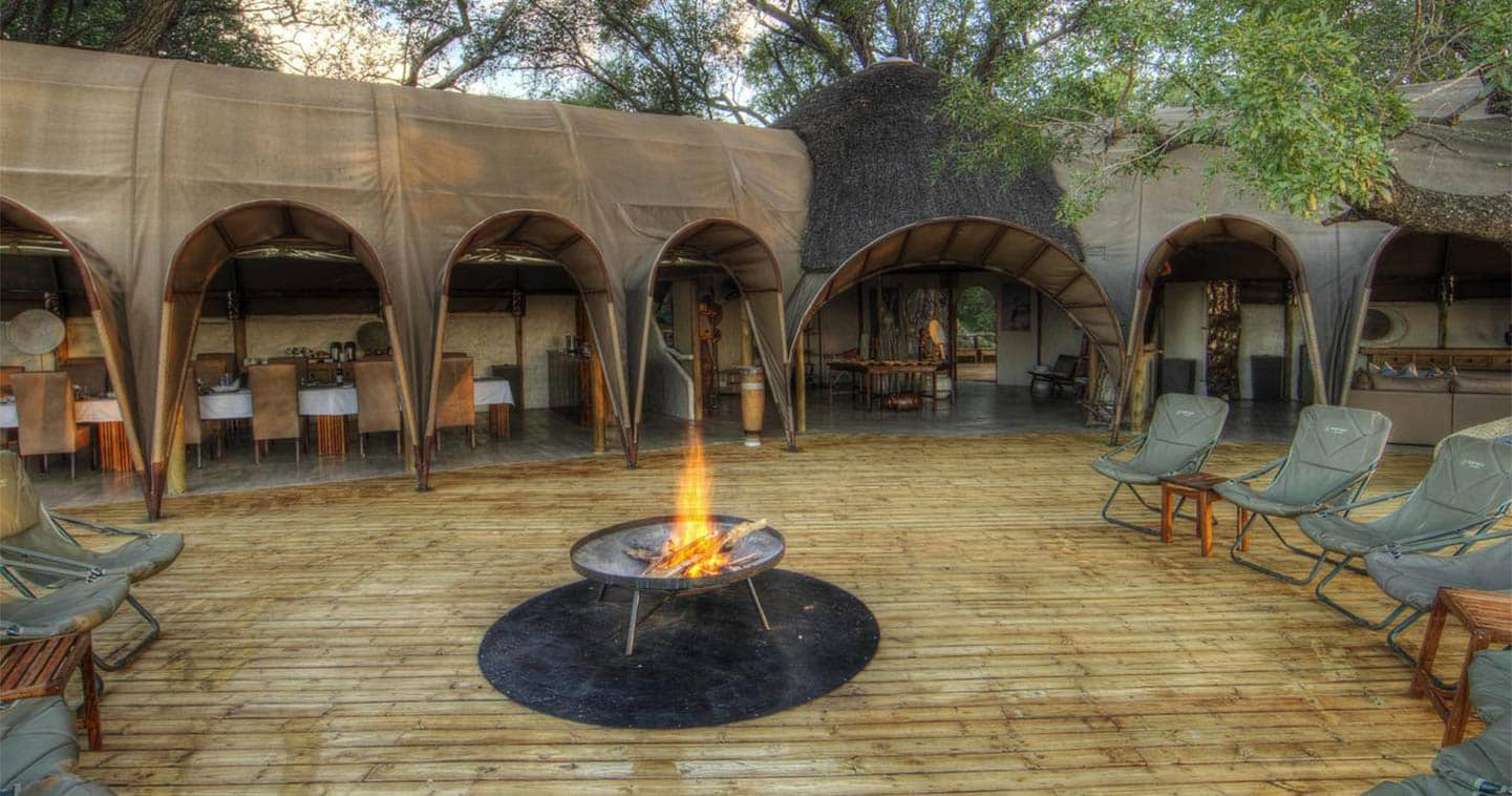 The Boma at Camp Okuti
