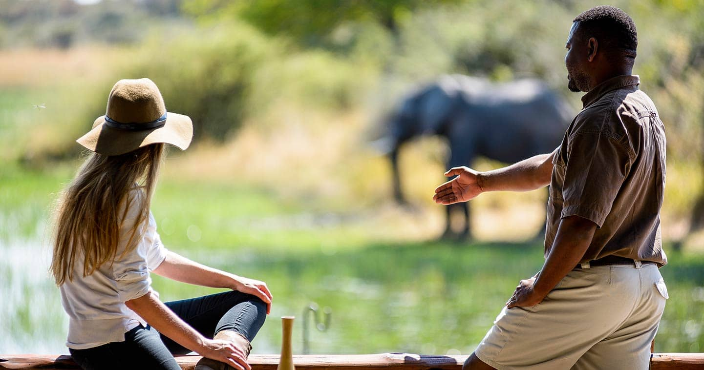 Moremi travel information information about moremi game reserve in botswana
