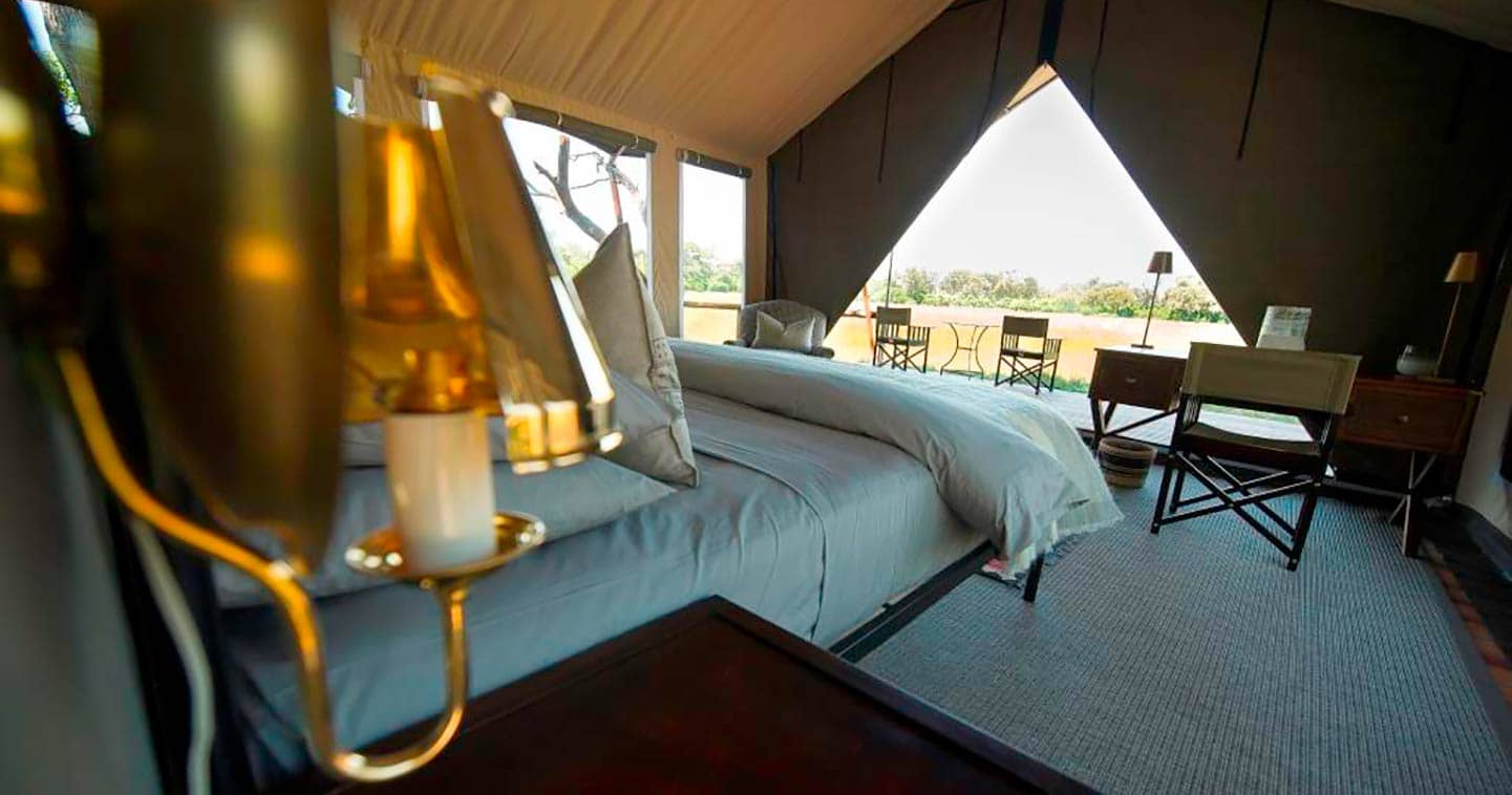 Little Machaba in Moremi is a luxury lodge