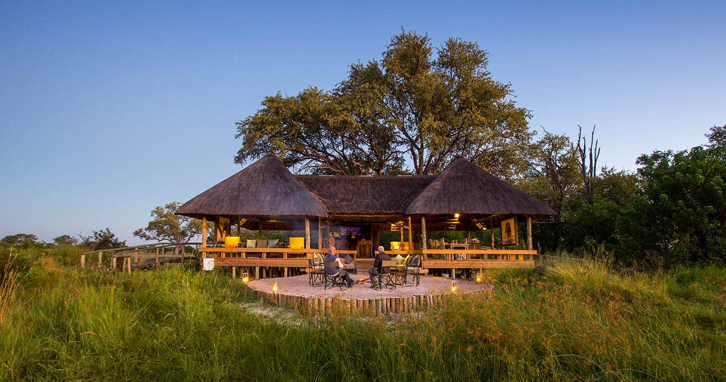 Luxury Botswana lodge Jackal and Hide