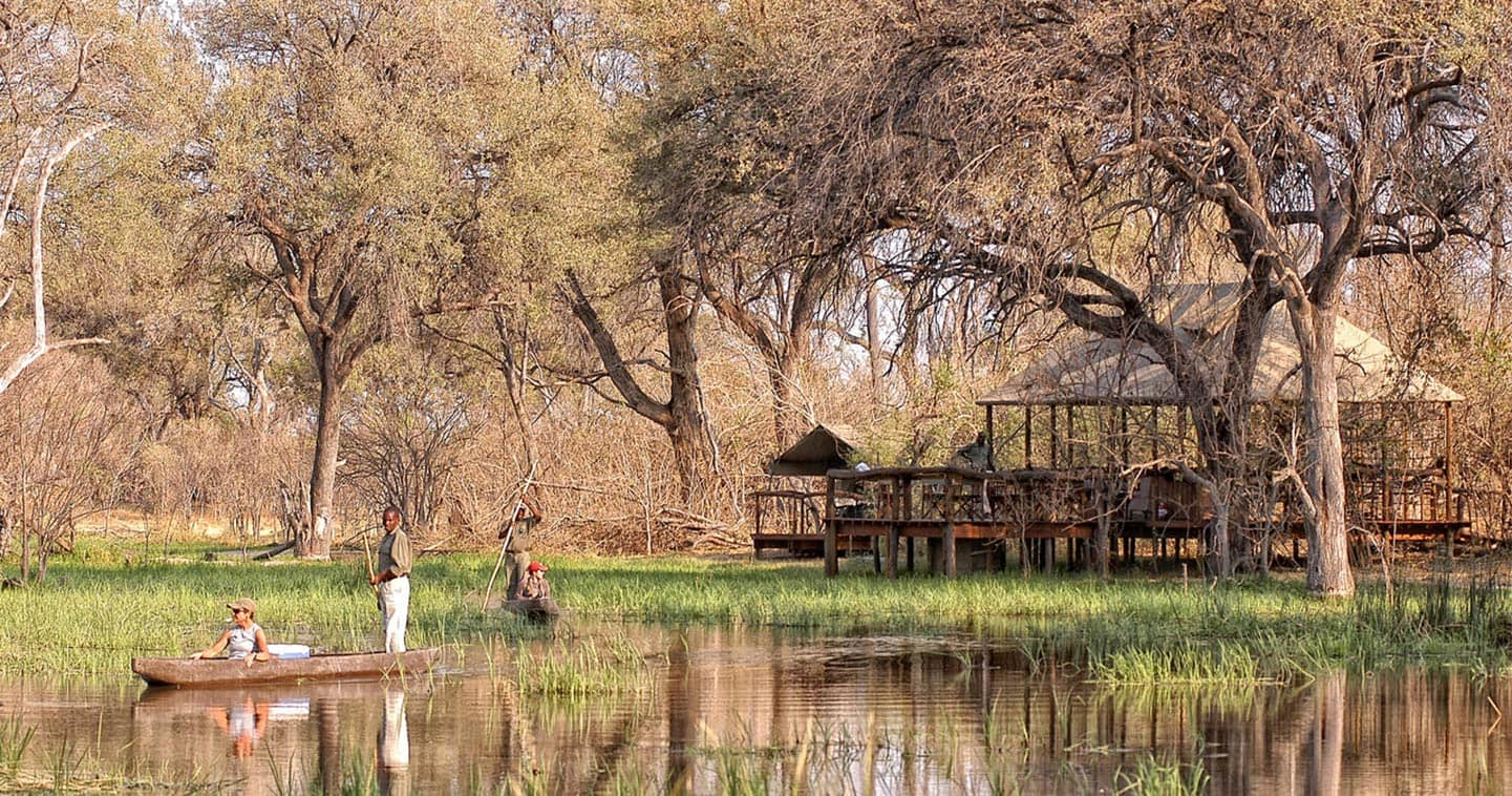 Luxury Moremi Game Reserve Safari at Khwai Tented Camp
