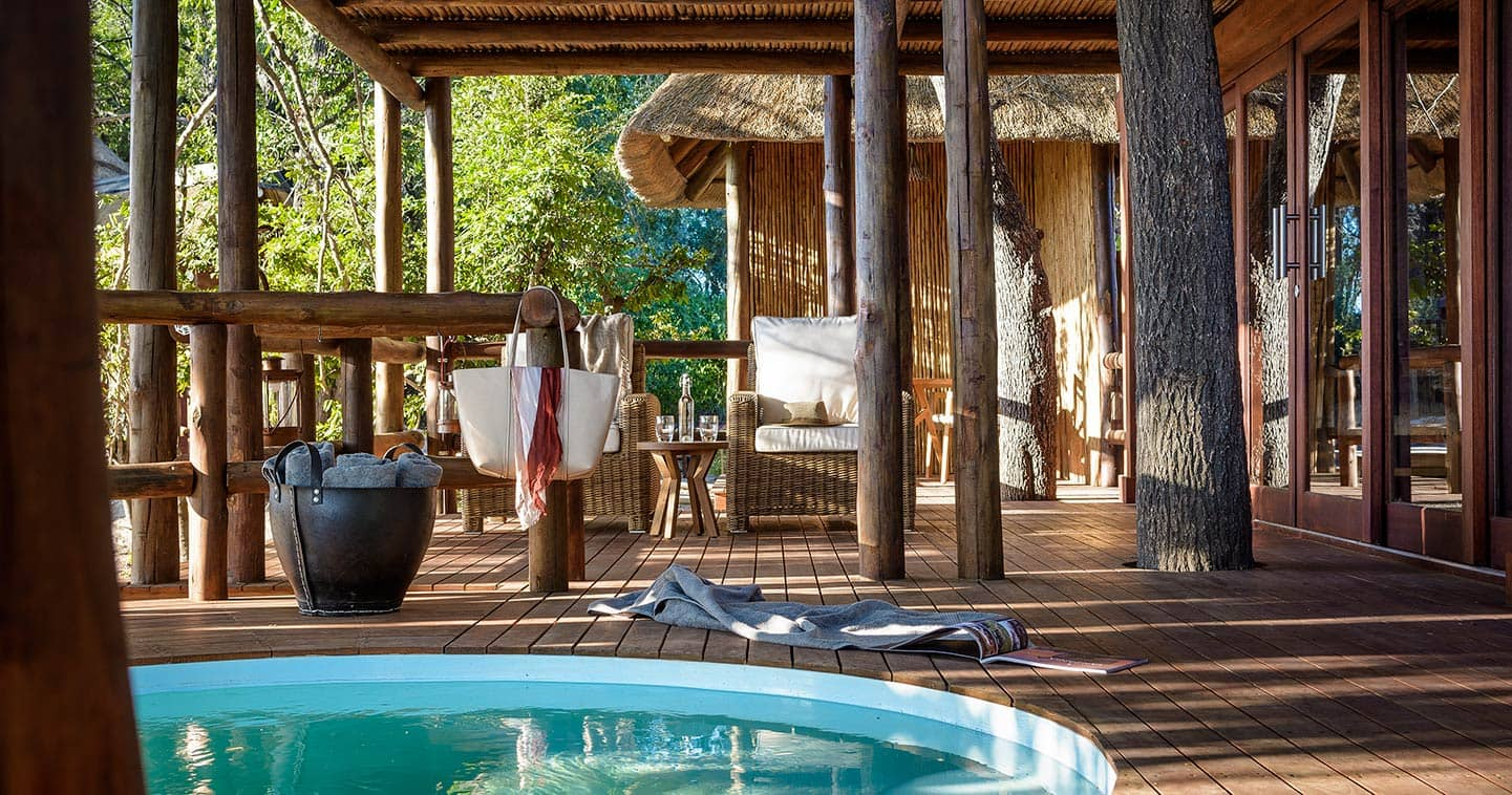 Enjoy a luxury Moremi safari at Sanctuary Chief's Camp