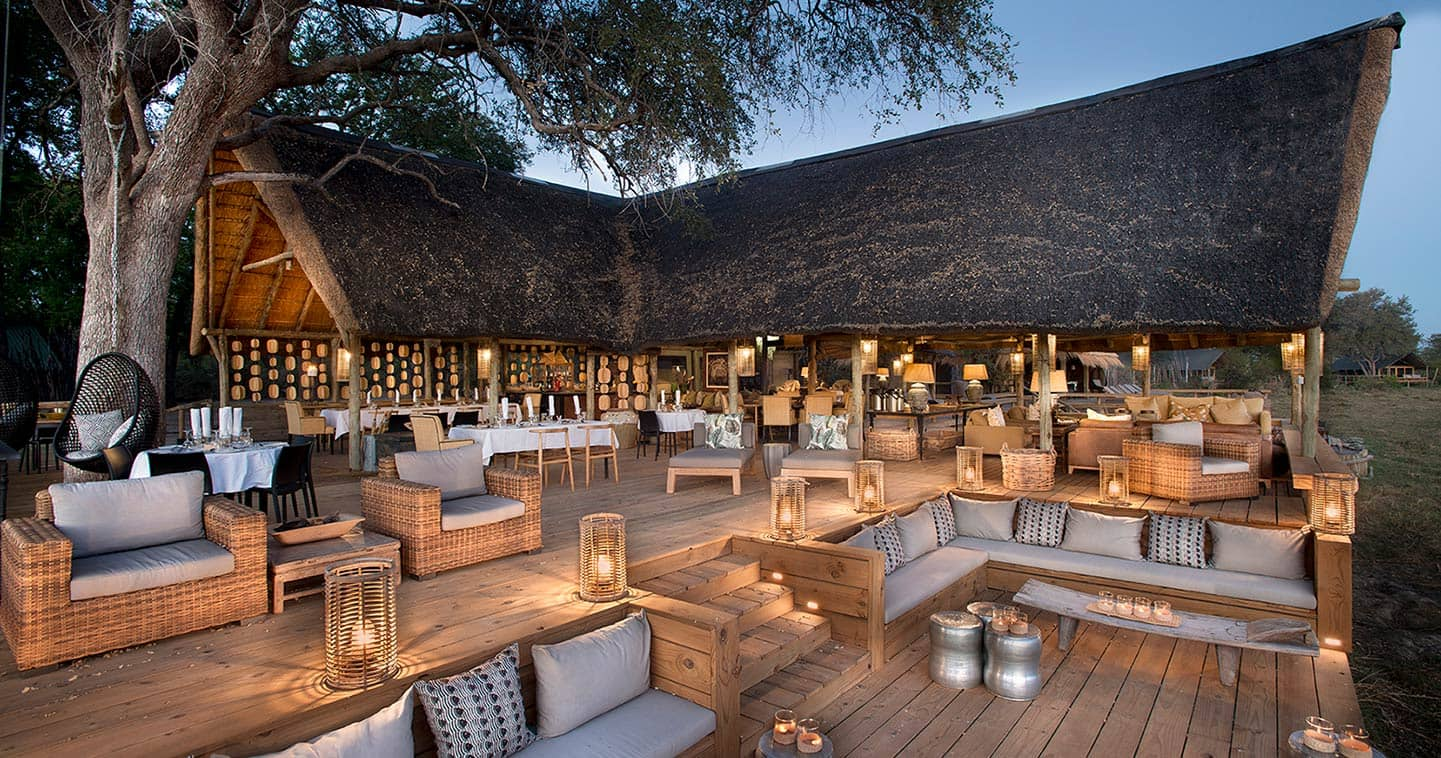 Luxury safari accommodation at Sable Alley Lodge