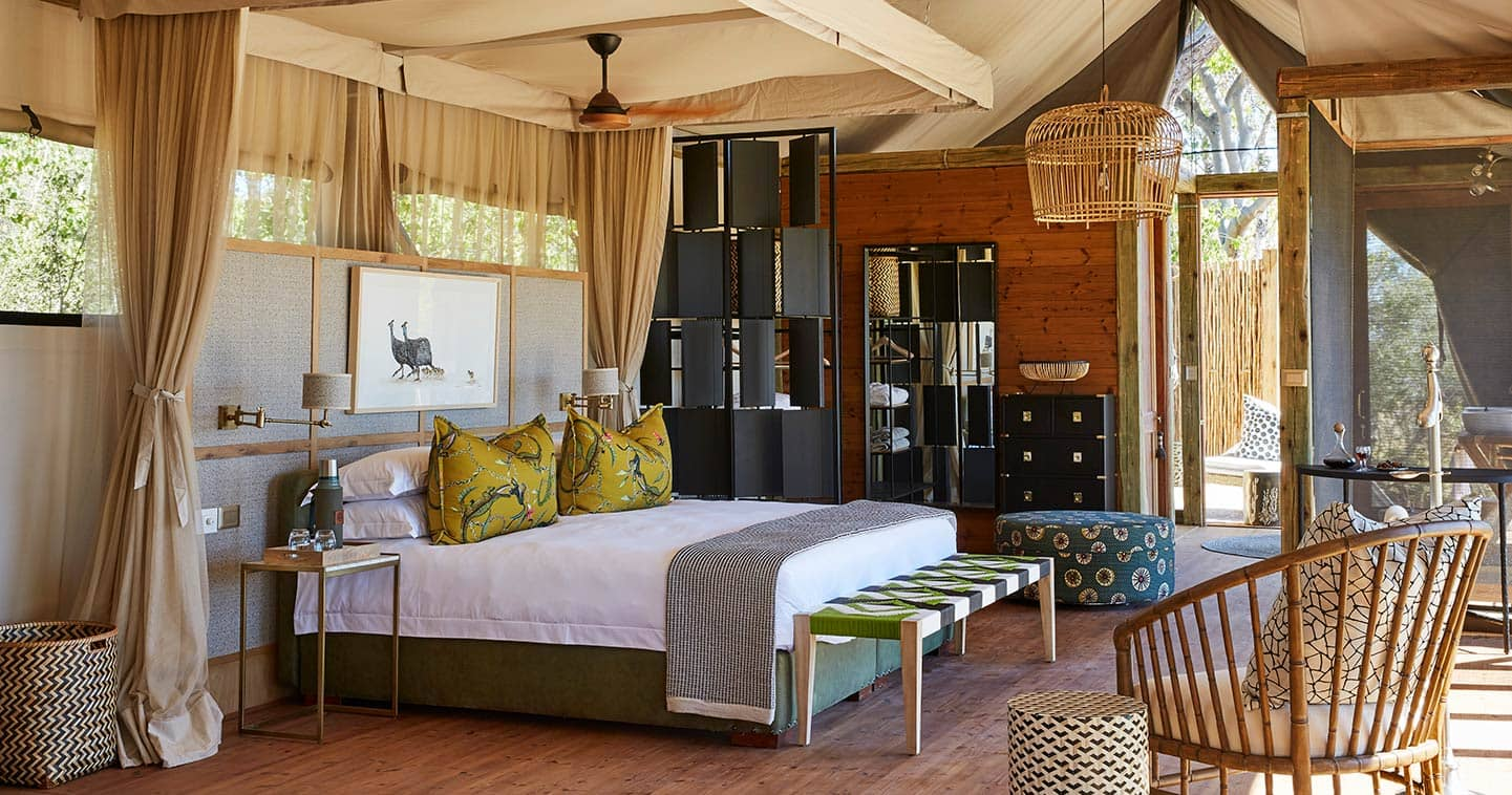 Luxury safari lodge Tuludi Camp