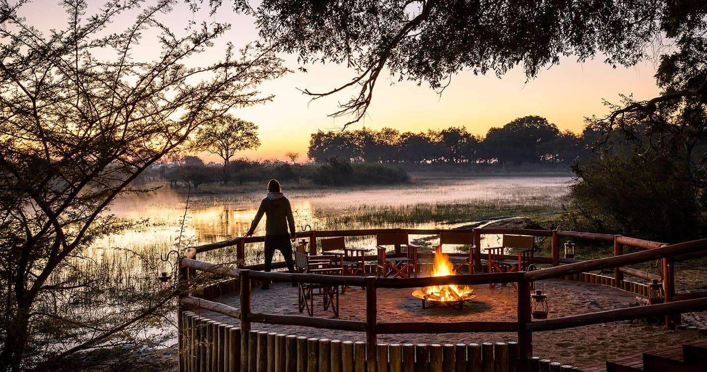 moremi game reserve in botswana travel information