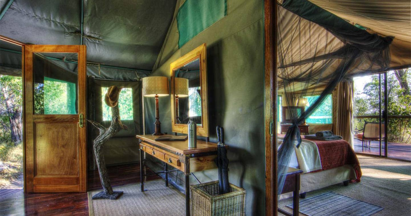 Beautiful Interiors at Camp Moremi