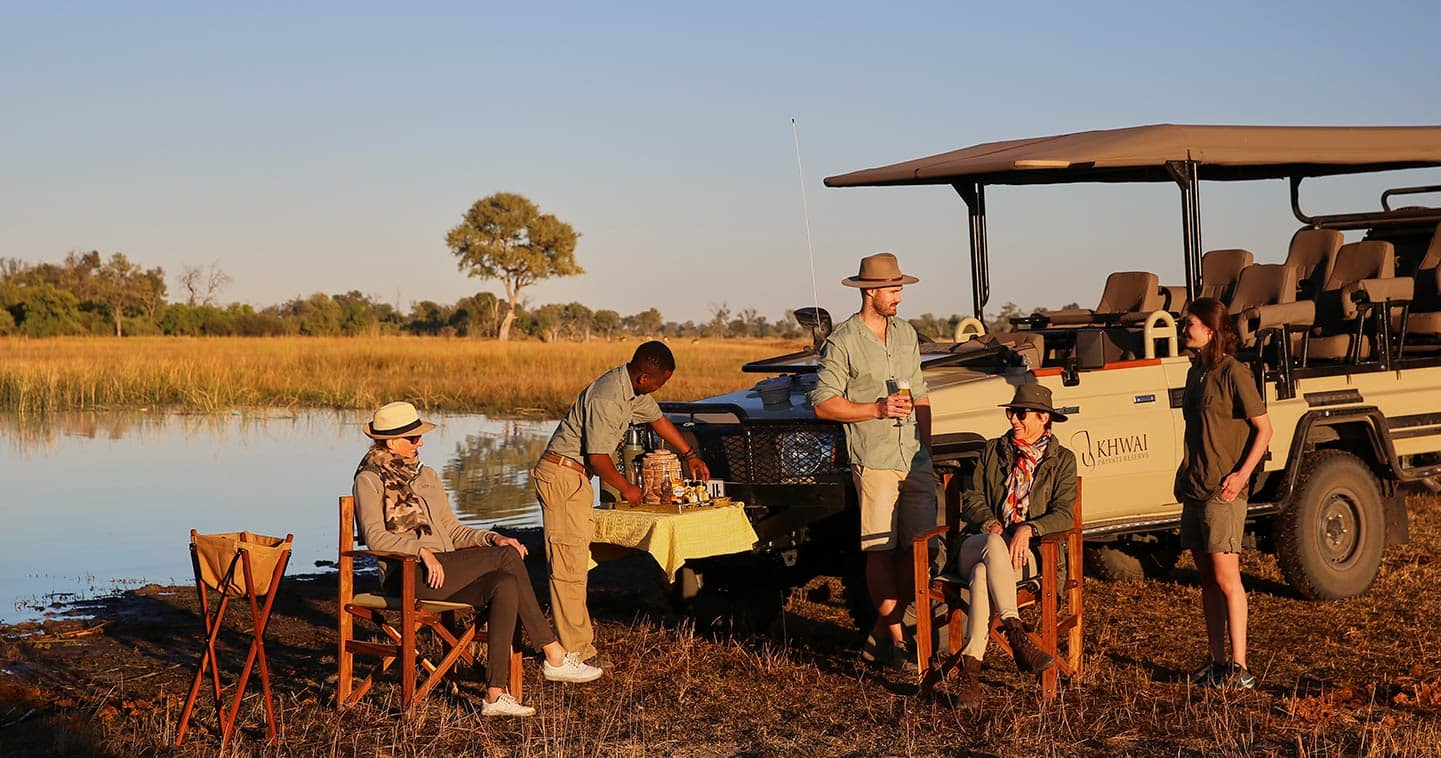 Enjoy a safari experience at Tuludi Camp