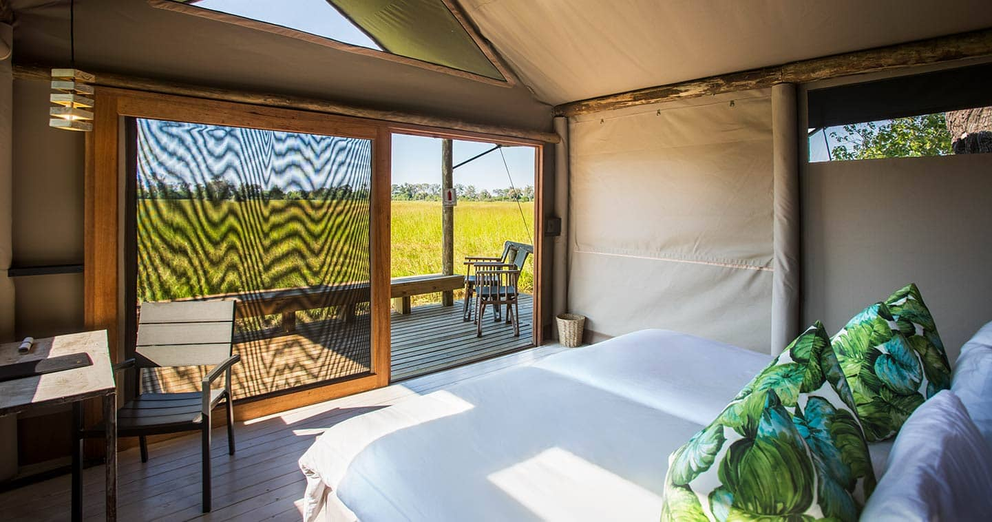 Jackal and Hide safari lodge in Botswana