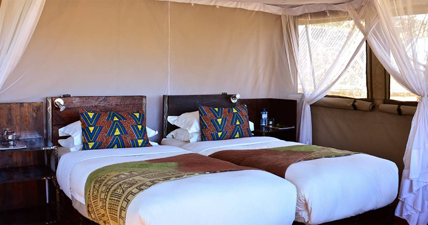 Sango Safari Camp bedroom