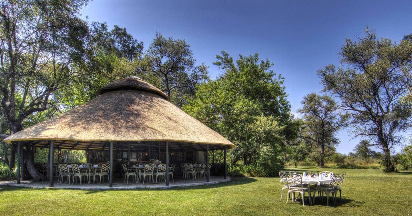 The Boma at Camp Moremi
