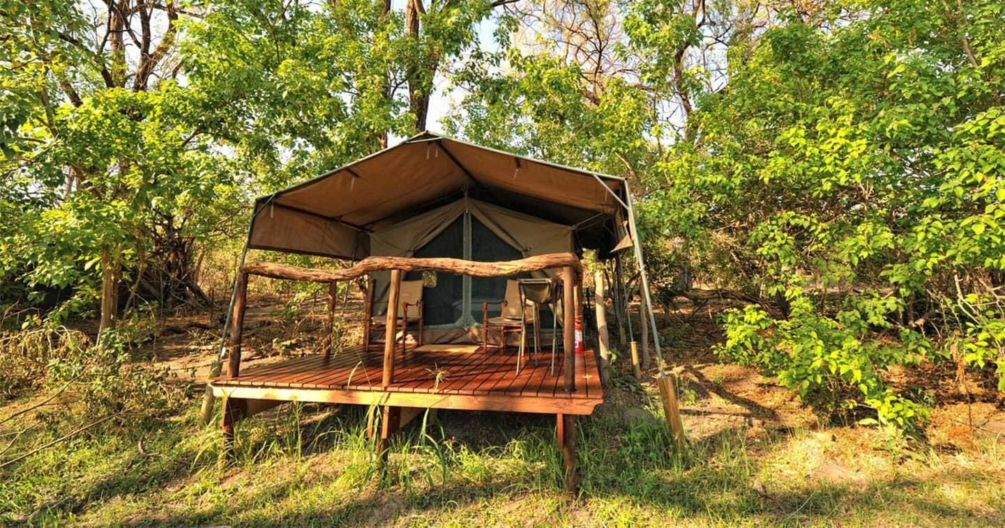 Sleep over in Khwai Tented Camp for the Ultimate Safari Experience in the Moremi Game Reserve